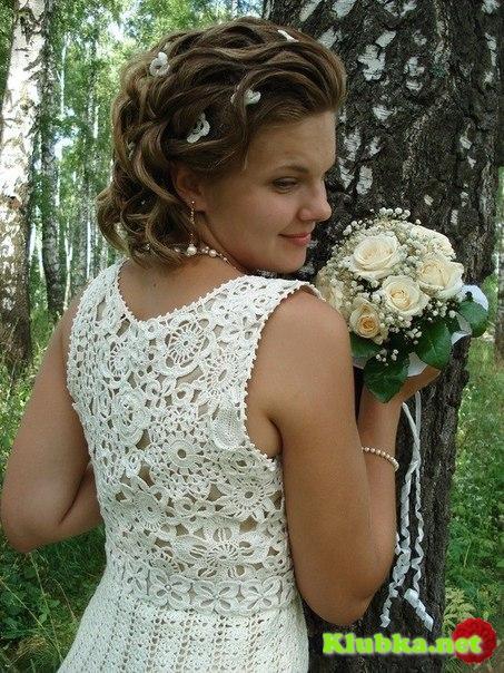Свадебное платье. Крючок
