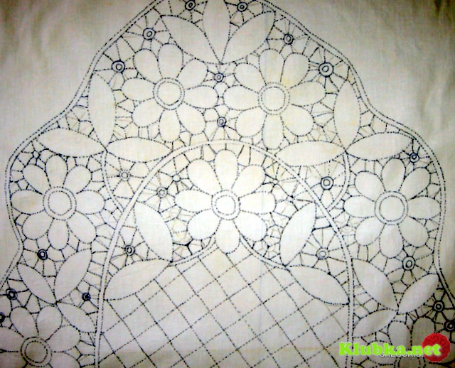 Румынское кружево в исполнении мастера Nunzia Gregorio со схемами