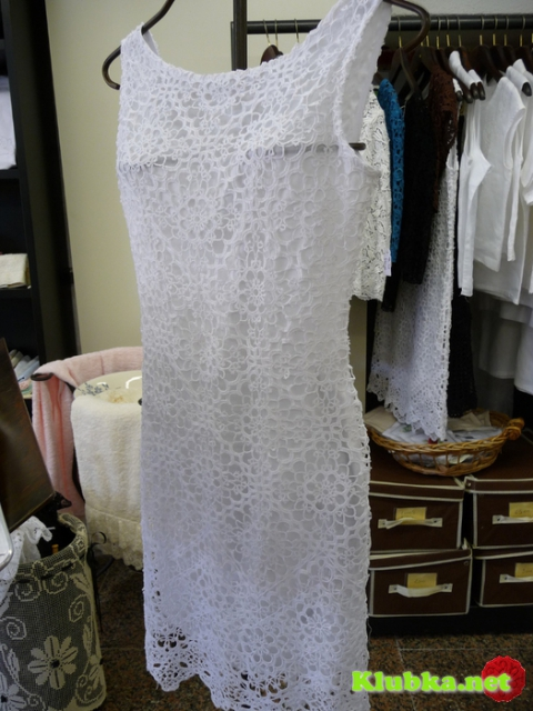 Кружевное платье с острова Бурано
