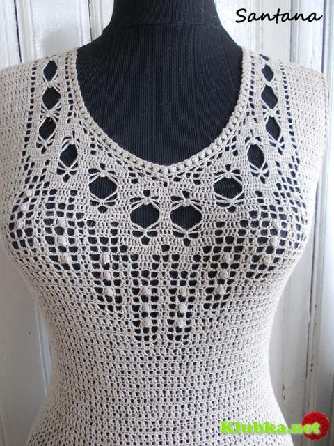 Платье в пол из льна