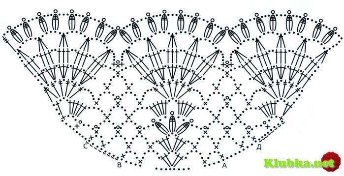 Вязание крючком рукав крылышек