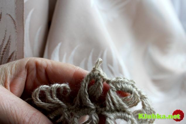 Вязание вытянутыми петлями