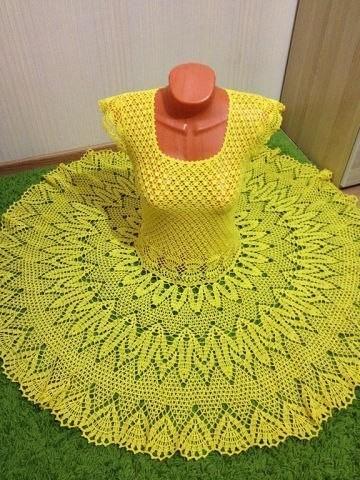 Платье - Золотой Одуванчик