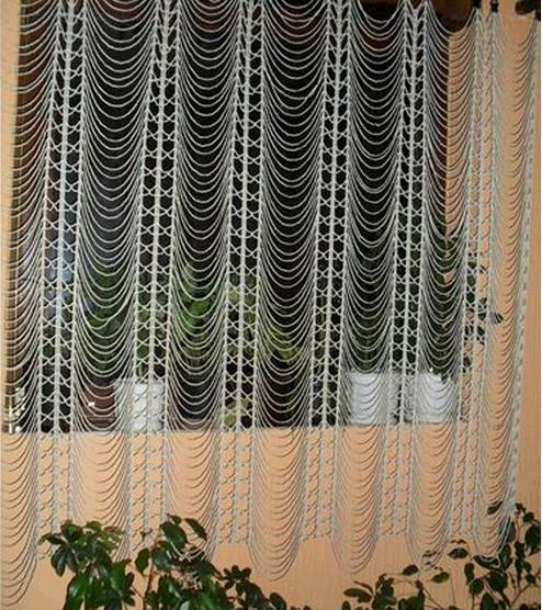 Декоративная шторка-тюль своими руками