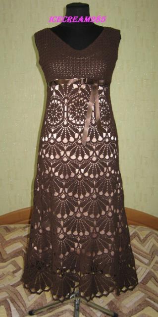 """Платье """"Шоколадное настроение"""""""