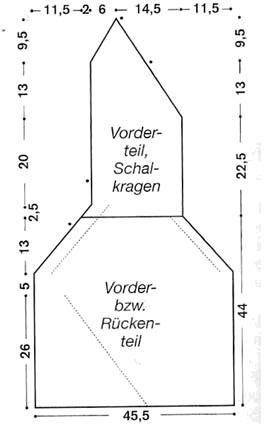 Оригинально решение 589 Gedifra Modern Cotton. Безрукавка