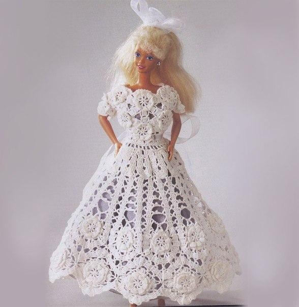 Вязаный крючком наряд для куклы