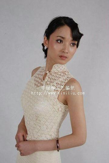 Вязание крючком китайского платья