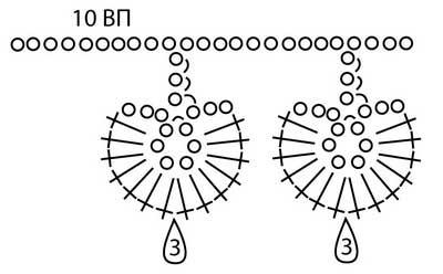 Вяжем крючком шикарные цветочные бусы
