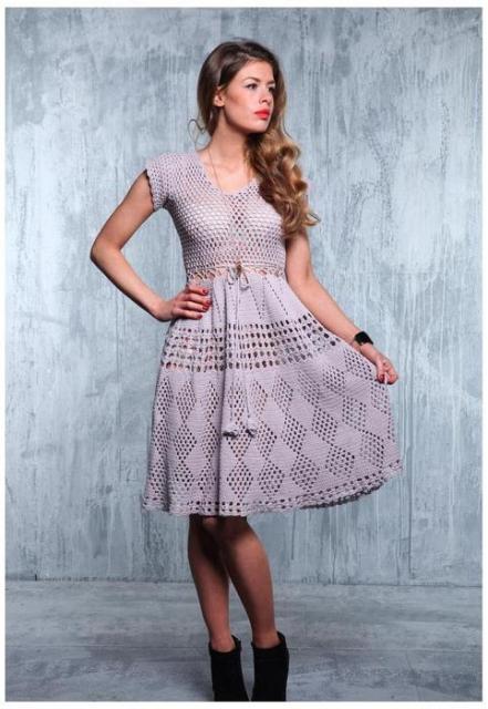 Платье с подиума