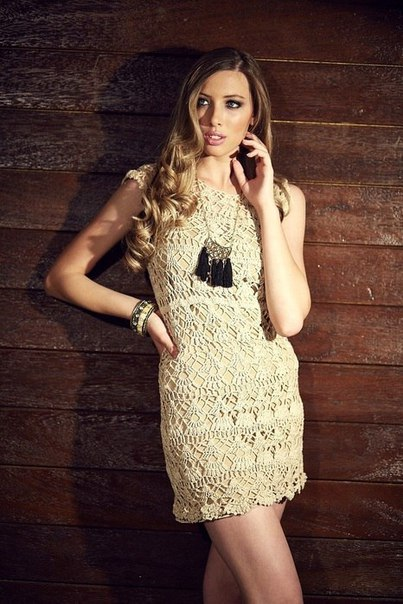 Бразильское платье крючком