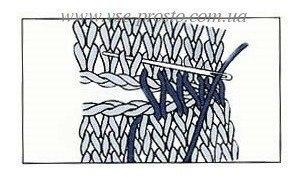 Незаметное соединение вязаных деталей аккуратным швом.