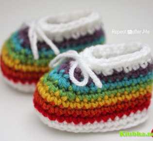 Пинетки для младенцев \»Радуга\»