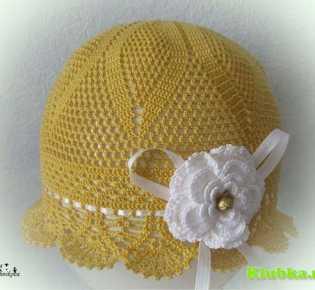 Красивая шляпка для маленькой принцессы