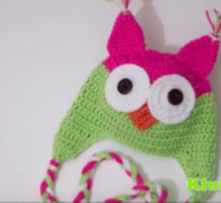 Чудная шапочка для девочек. видео мастер — класс