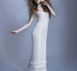 Платье «Венера» от Ванессы Монторо крючком