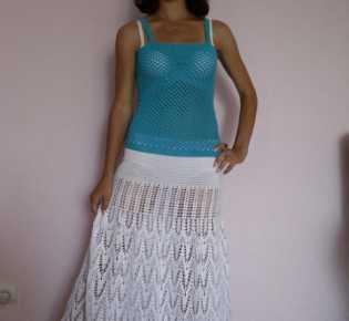 Пляжная юбка