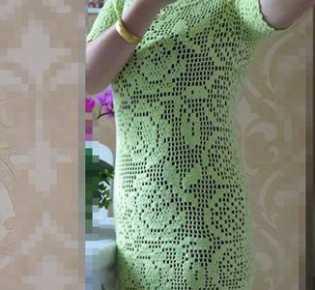 Платье \»Хрустальная роза\».