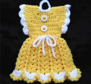 Платье-прихватка \»Ромашка\»