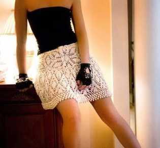 Бесподобно красивая мини юбка Lelu