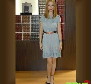 Вязаное платье \»Прекрасная эпоха\» от Ванессы Монторо