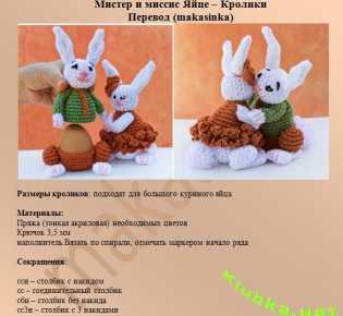Яйце — кролики