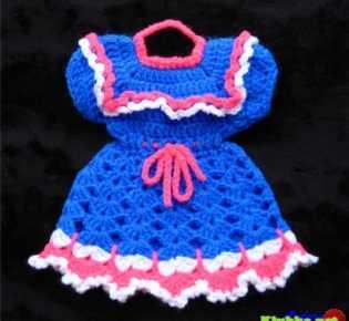 Платье-прихватка \»Мальвина\»
