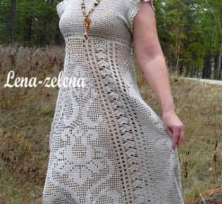 Платье \»Сказочный цветок\». Авторская работа Елены Сидельниковой