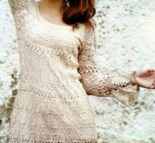 Летнее платье. Edna Confecções em Crochê : Abril 2015