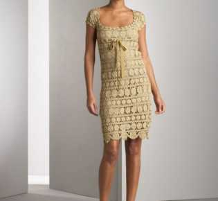 Платье \»Золотистые монетки\»